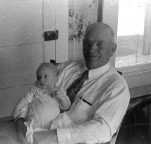 George O Nokes, Snr with Baby Jack Nokes