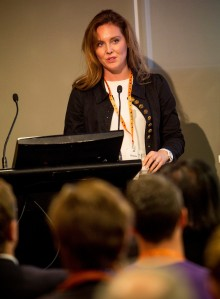 "Our ""Friday in Field"" expert this month is Nina Sochon seen here sharing her knowledge with delegates at the recent ""Future of Work"" Conference in Melbourne , Australia"